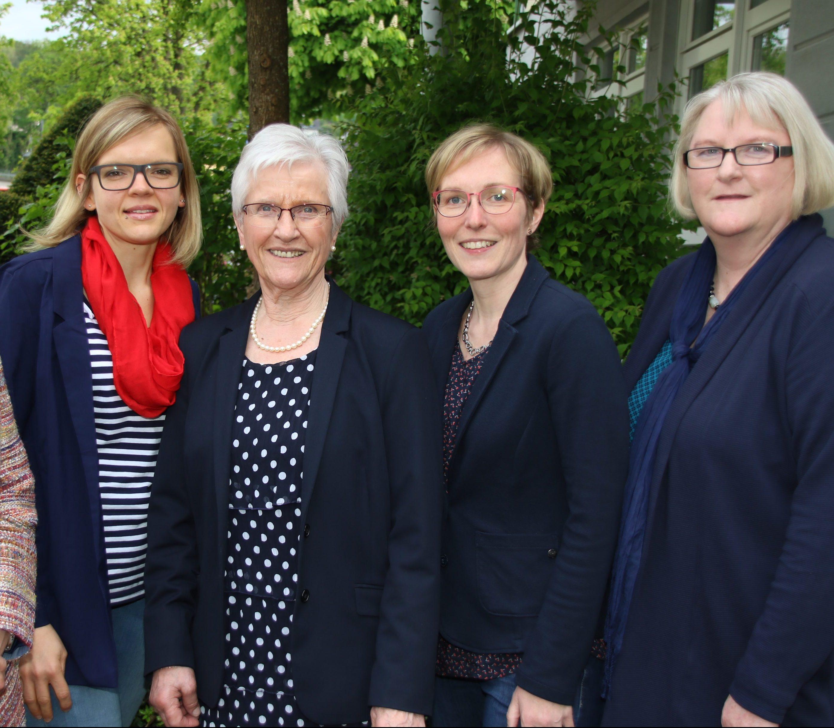 Team der Alzheimer Gesellschaft im Bergischen Land e.V. (es fehlt T. Pawlak)
